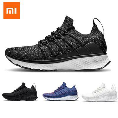 Original Xiaomi Mijia Sneaker 2 Running Shoes Uni-moulding Elastic Knitting Vamp Shock-absorbing