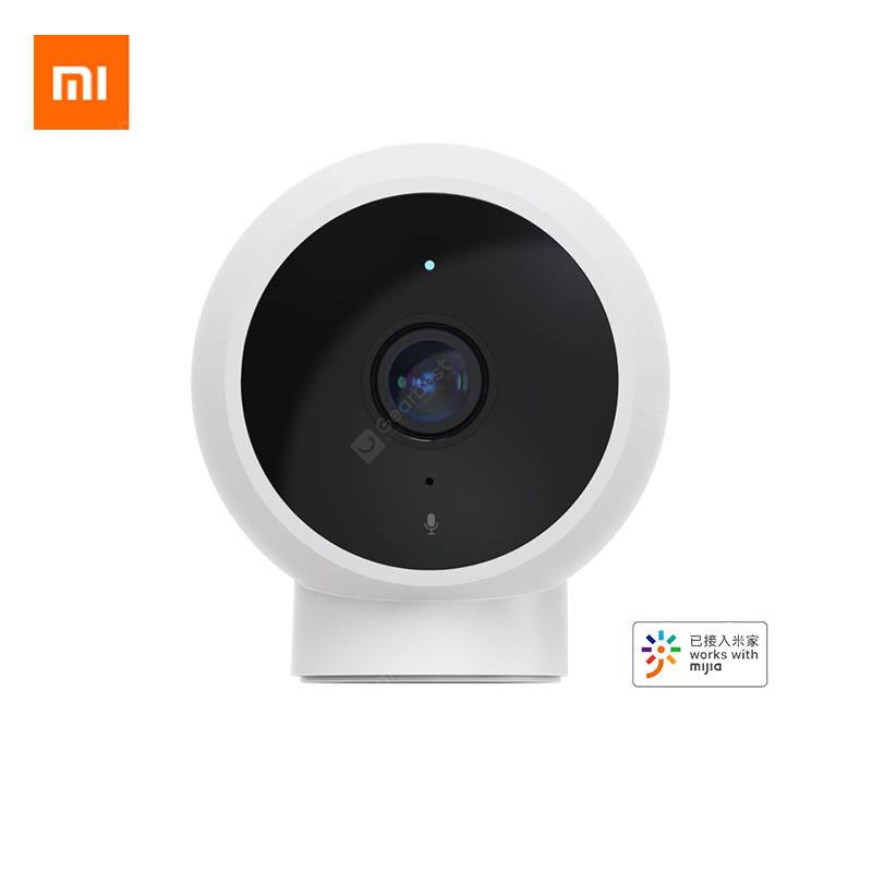 Newest Xiaomi Smart Camera 170 Wide Angle Compact Camera HD 1080p Night Vision Work With Mijia - White UK Plug China