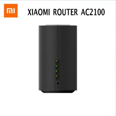 Xiaomi AC2100 Router Gigabit Ethernet Port 2.4GHz 5GHz WiFi 128Mb ROM 128Mb High Gain 4 Antenna