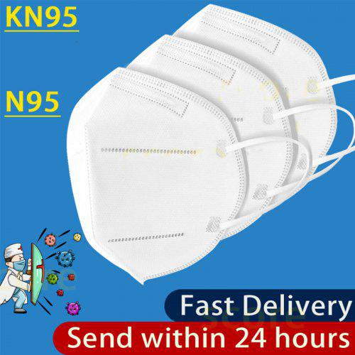 KN95 Disposable Masks N95 Face Mask Anti-Dust Safety Protective Non medical Respirator