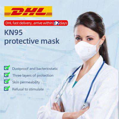 KN95 N95 Dustproof Anti-fog And Breathable Face Masks Protective 10pcs