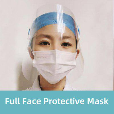 5PCS Full Face Masks Anti-droplets Anti-fog Dust-proof Transparent Face Shield Safety Mask