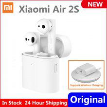 Newest Xiaomi Air 2S True Wireless Earphone TWS LHDC Tap Control Dual MIC ENC Airdots Pro 2S