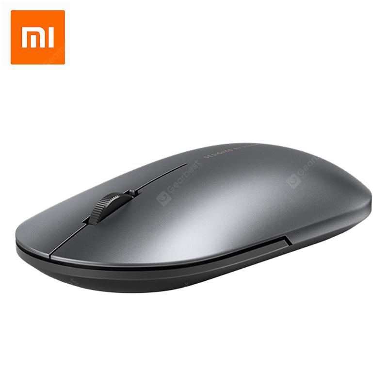 Newest Xiaomi Bluetooth Fashion Mouse Wireless Game Metal Portable Mouse  Black China