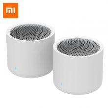Asli Xiaomi XMYX05YM Speaker Portabel Mini Wireless Stereo Bass Subwoofer dengan HD Mic