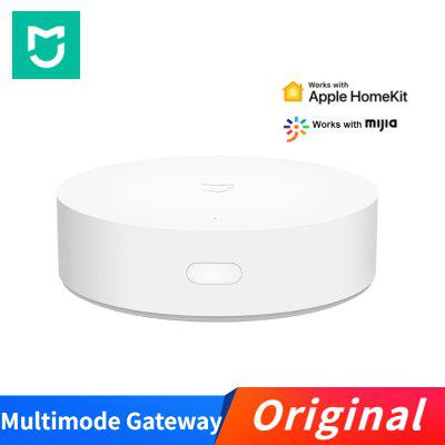 Original Xiaomi Mijia Gateway Multimode Smart Home ZigBee WIFI Work With APP Apple Homekit