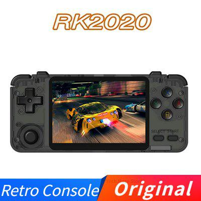 Original RK2020 Retro Console 3.5inch IPS Screen Portable Handheld Game Console PS1 N64 Games Video Game Player
