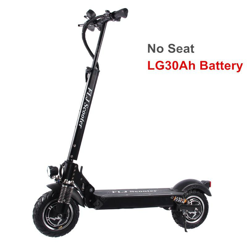 FLJ T11 2400W Dual Motor Electric Scooter with two 10inch engine electric kick scooter for adults  LG30Ah Battery No Seat Spain