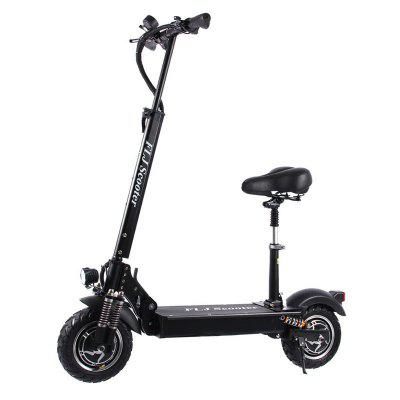 FLJ T11 2400W Dual Motor Electric Scooter with two 10inch engine electric kick scooter for adults