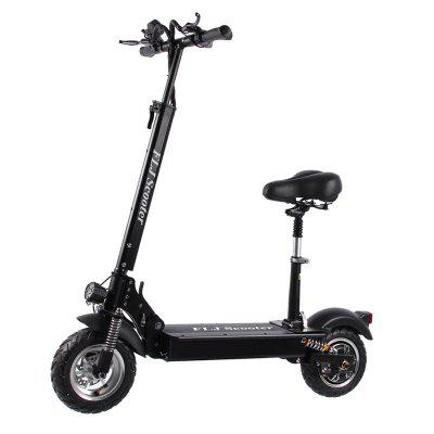FLJ C11 1200W 10inch wheel Electric Scooter with seat electric bike hoverboard e scooter for adult