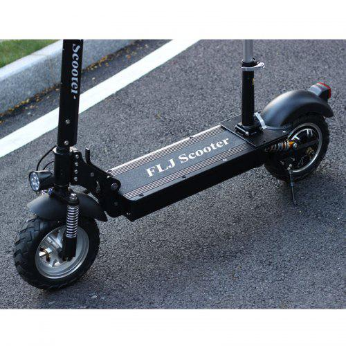 Flj C11 1200w 10inch Wheel Electric Scooter With Seat