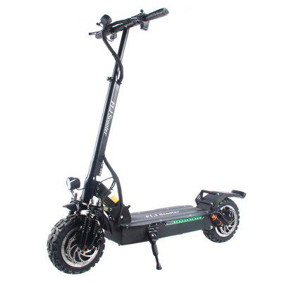 FLJ T113 11inch 60V 3200W Dual Motor Electric Scooter with Big Wheel Off Road Tire E Bikefor Adults