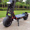FLJ K6 13inch Fat Wheel Electric Scooter with 90-150kms Range Dual Engine drive big wheel Scooter 40Ah 50AH Battery 6000W E Scooter