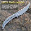2020 CH Sultan Cool High Hardness Quality Folding Knife S35VN Blade Material Titanium Handle Outdoor Adventure Collection New