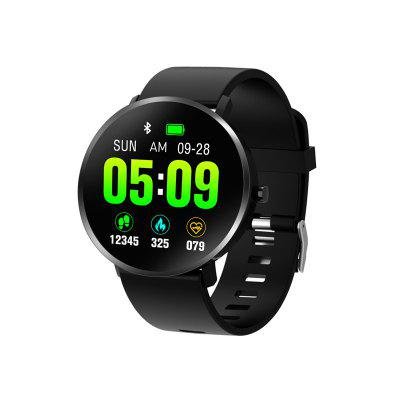 Full Screen  Heart Rate Blood Pressure Blood Oxygen Music Control Weather Forecast Smart Watch