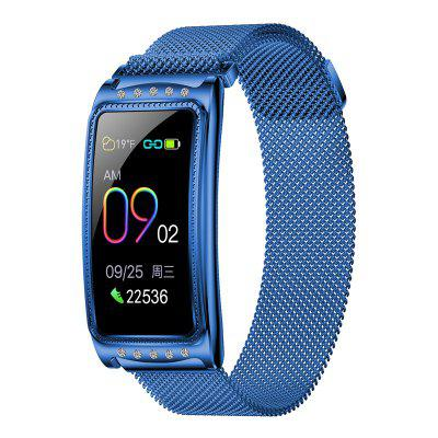Smart Watch Heart Rate Monitor Blood Pressure Oxygen Reminder Bracelet for Lady Girl
