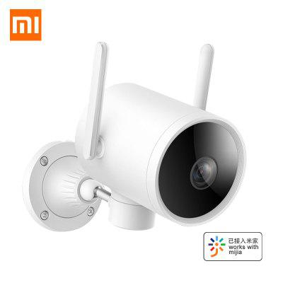 Original Xiaomi Xiaobai Outdoor Smart Waterproof Camera 1080P Dual antenna IP Cam Night vision