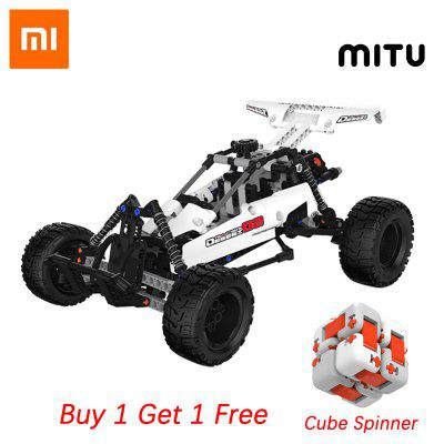 Original Xiaomi Mitu Building Blocks Robot Desert Racing Car DIY Educational Toys piston Kids Gift