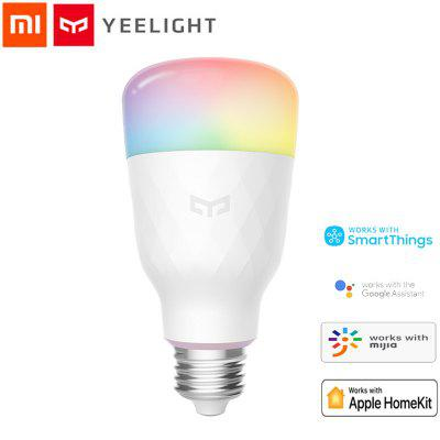 Yeelight Lâmpada colorida E27 Smart APP WIFI Remote Control Smart LED Light Xiaomi Ecossistema Produto