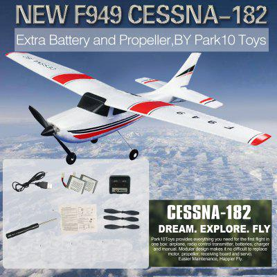 JJRC EBOYU F949 Remote Control Plane Cessna 2.4G 3CH RC Fixed Wing Plane RC Quadcopter Drone