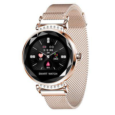 H2 Smart Watch Donna Impermeabile Fitness Tracker Monitoraggio della frequenza cardiaca Orologio da donna per Android IOS
