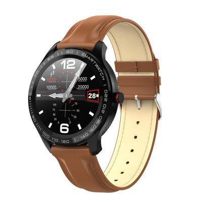 Smart Watch ECG Heart Rate Calls Reminder Full Touch IP68 Waterproof Watch Men For Android IOS Image