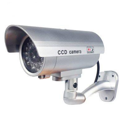 Outdoor Fake Camera Home security video Surveillance dummy camera HD battery power Flashing LED