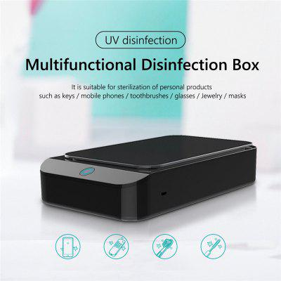 X2 UV Sterilizer Box For Jewelry Phone Cleaner Ultraviolet Light Sterilizer Box Household Cleaning