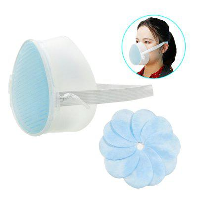 Reusable Mask K3 Self priming Filter Mask with 3 layer Filter Reusable Face Mask Sanitary Respirator