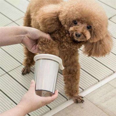 Xiaomi Jordan Judy Pet White Foot Clean Cup Cleaning Tool Silicone Washing Brush For Dog