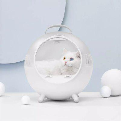 Xiaomi Smart Pet Carrier Cage Outdoor Carrying Pet Bed Transparent Travel With Cats And Dogs