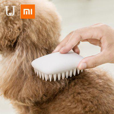 Xiaomi mijia Jordan Judy Pet Dog Silicone Comb Hair Removal Brush Smooth Surface Easy Cleaning