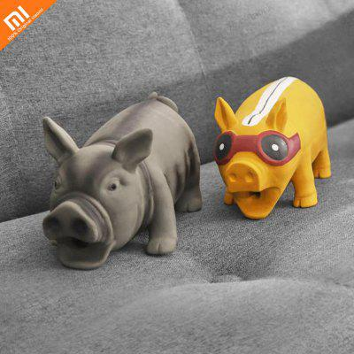 Xiaomi pet dog toy squeak squeeze sound toy durable chew toy sound toy does not deform easy to clean