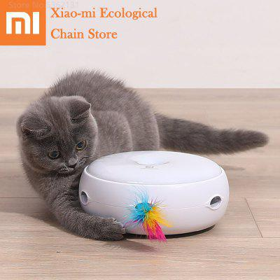 Xiaomi Smart Interactive Cat Toy Teasing Stick Game Electric Self Rotating Pets Playing Toys