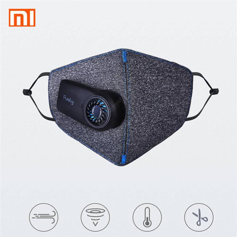 Xiaomi mijia Purely Anti-Pollution Air Face Mask with PM2.5 550mAh Battreies Rechargeable Filter - China