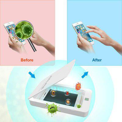 In Stock Portable UV Disinfection Box Phone Cosmetics Mask Jewelry Disinfection from Xiaomi Youpin