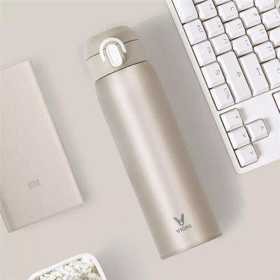 VIOMI Stainless Steel Vacuum 24 Hours Flask Smart Bottle Thermos Single Hand ON from Xiaomi Youpin