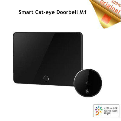 720P 161 FHD Wireless Smart Cat-eye Video Doorbell with 5inch Touch Screen 5000m from Xiaomi Youpin