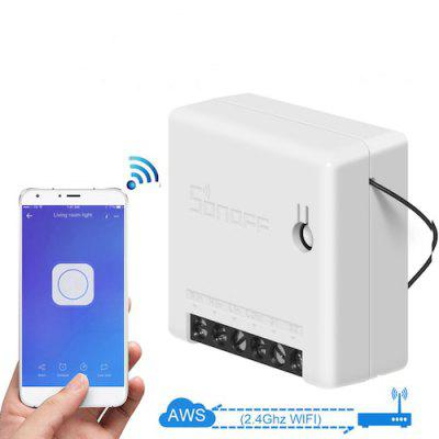 Sonoff Mini DIY Smart Switch Small Ewelink Remote Control Wifi Switch Support An External Work with Alexa Google Home