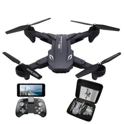 Visuo XS816 RC Drone with 50 Times Zoom WiFi FPV 4K Dual Camera Optical Flow Quadcopter Selfie Drone Image