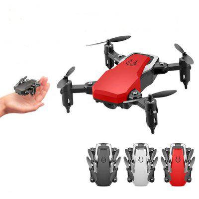 Mini Drone LF606 4K HD Camera Foldable Quadcopter One-Key Return FPV RC Helicopter Quadrocopter Image