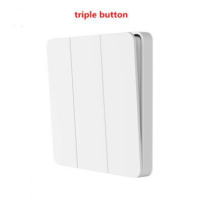 Xiaomi Mijia Smart Switch Wall Single/Double Open Dual Control 2 Modes Over Intelligent Lamp Lights