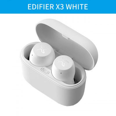 Фото - EDIFIER X3 TWS Wireless Bluetooth Earphone Bluetooth 5.0 Voice Assistant Touch Control Voice Assistant Up To 24hrs Playback bluetooth