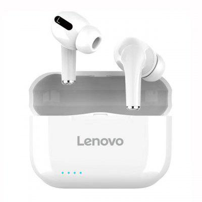 Фото - Lenovo LP1S TWS Bluetooth Earphone Sports Wireless Headset Stereo Earbuds HiFi Music With Mic LP1 S For Android IOS Smartphone new original lenovo lp1 tws wireless earphone bluetooth 5 0 dual stereo noise reduction bass touch control long standby 300mah headset