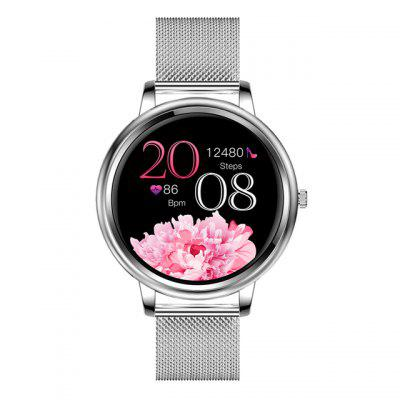 MK20 Smart Watch 2020 Full Touch Screen 39mm Diameter Women Smartwatch For Ladies And Girls Compatible With Android and IOS