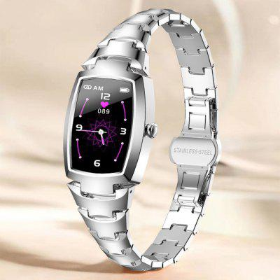 New Smart Watch Women Fashion Lovely Watches Heart Rate Monitoring Call reminder Bluetooth H8 Pro For Android IOS