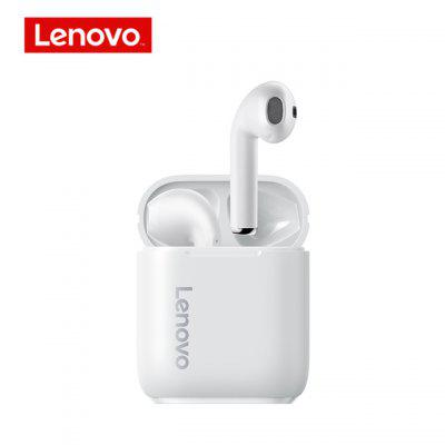 Фото - Original Lenovo LP2 Wirless Bluetooth 5.0 Earphones Stereo Bass Touch Control Wireless Sports Earbuds Waterproof Headset With Microphone akg 3 5mm wired in line earphones stereo earbuds