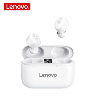Original Lenovo HT18 TWS Wireless Bluetooth 5.0 Earphone 1000mAH Battery LED Display Earbuds Volume Control HIFI Stereo Headset armoon colorful cat ear led light bluetooth headets cat ears foldable wireless headphone tf headphones hifi stereo for children girl kid gift