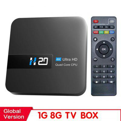 New H20 TV Box Android 10 2GB 16GB 4K TV receiver Media player 3D Video 2.4G Wifi H20 Smart TV BOX Android Set top box