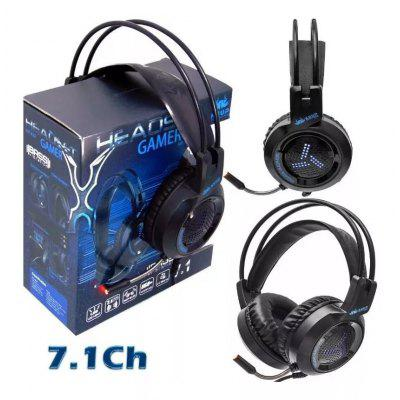 Headset Gamer 7.1 Ps4 Usb Xbox Pc Microphone C Led P2